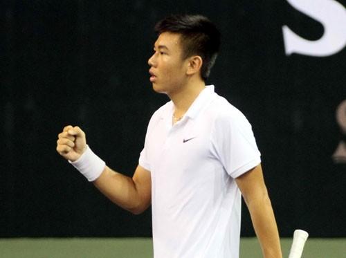 Lý Hoàng Nam nhảy 126 bậc vào tốp 1.000 ATP
