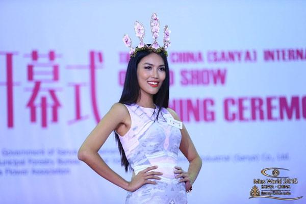 Hoa khôi Lan Khuê đang ở vị trí nào tại Hoa hậu Thế giới ?