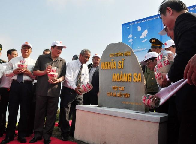Xây khu tưởng niệm Nghĩa sĩ Hoàng Sa ở đảo Lý Sơn