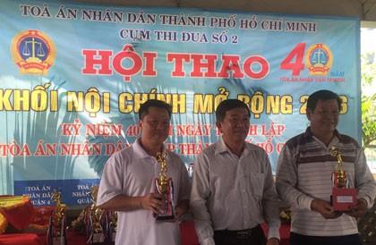 TP.HCM: Tòa án các quận tổ chức hội thao khối Nội chính mở rộng