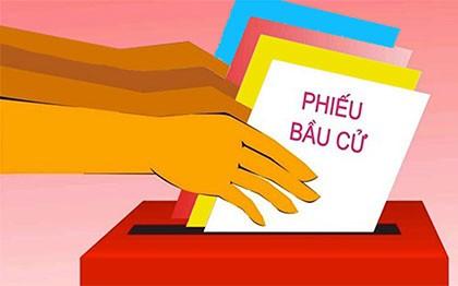 Cử tri các đơn vị quân đội huyện Lý Sơn đã hoàn thành bầu cử