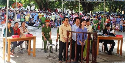 Bán người sang Trung Quốc, 4 bị cáo lĩnh án