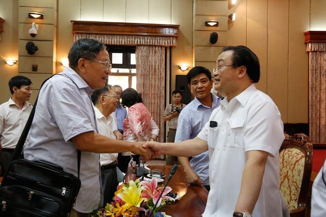 Bí thư Hà Nội: Mong giới trí thức hiến kế xây dựng Thủ đô