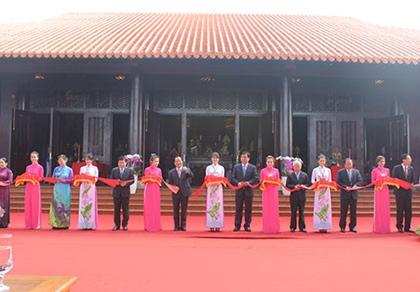 Khánh thành đền thờ Lễ Thành hầu Nguyễn Hữu Cảnh