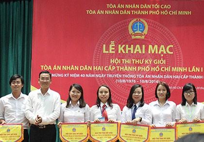 TP.HCM: Tổ chức hội thi thư ký toà án giỏi