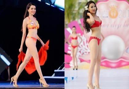 Huỳnh Thúy Vi - người đẹp giống hoa hậu Nguyễn Cao Kỳ Duyên