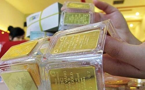 Giá vàng giảm 400.000 đồng/lượng, rời mốc 37 triệu đồng