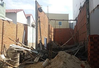 Bình Định: Sập giàn giáo 8 người thương vong