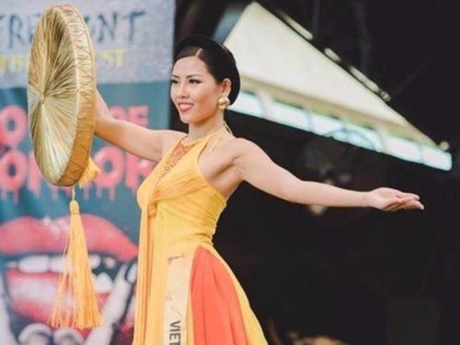 Nguyễn Thị Loan vào tốp 3 Trang phục Dân tộc đẹp nhất