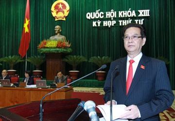 Thủ tướng Nguyễn Tấn Dũng: Khắc phục yếu kém bằng thực hành dân chủ