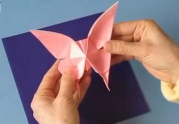 Hướng dẫn gấp bướm bằng giấy siêu đẹp