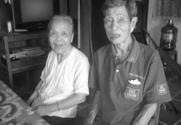 Ông bà cụ 90 tuổi muốn kết hôn đã được chung sống