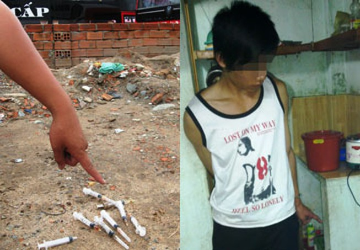 Bến xe Lam Hồng (Bình Dương): Bãi đáp của con nghiện