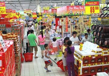 Giá thực phẩm ở chợ giảm nhiệt
