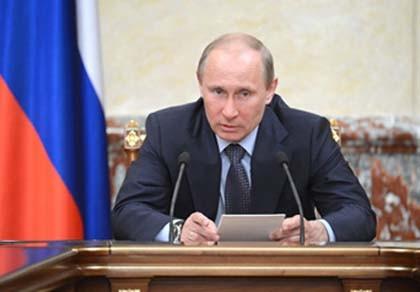 Putin chỉ đạo thực hiện cam kết tranh cử