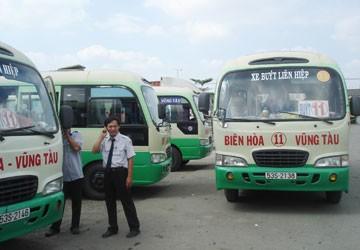 """Tuyến xe buýt Biên Hòa-Vũng Tàu vẫn còn xe """"dù"""""""
