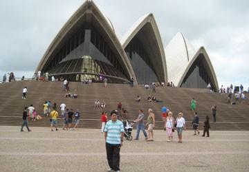 Đón giao thừa ở Sydney