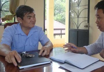 """Viện trưởng VKSND huyện Dầu Tiếng (Bình Dương):  """"Tôi bị bắt giữ trái pháp luật"""""""