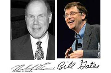 Khám phá chữ ký của những người giàu nhất thế giới