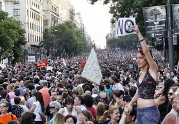 Tây Ban Nha biểu tình chống tham nhũng