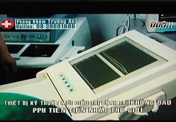 Đài tỉnh rôm rả quảng cáo phòng khám Trung Quốc