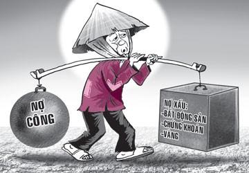 Nợ công Việt Nam nhìn từ các nước