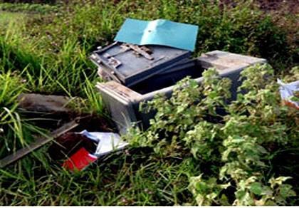 Liên tục xảy ra trộm két sắt ở Quảng Ngãi