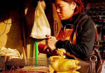 Hà Nội: Giá thịt gà tăng phi mã