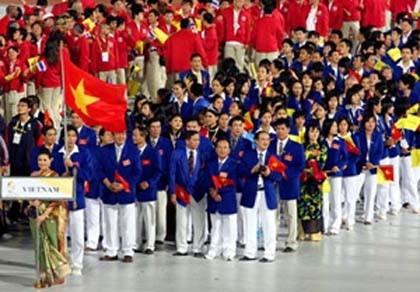 Đoàn VN tham dự SEA Games với trang phục mới