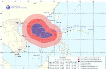 Tin bão trên Biển Đông, cơn bão số 6