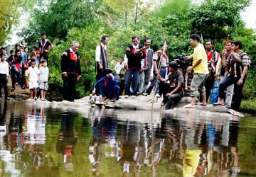 Đồng bào Ê đê tổ chức lễ tạ ơn thần nước