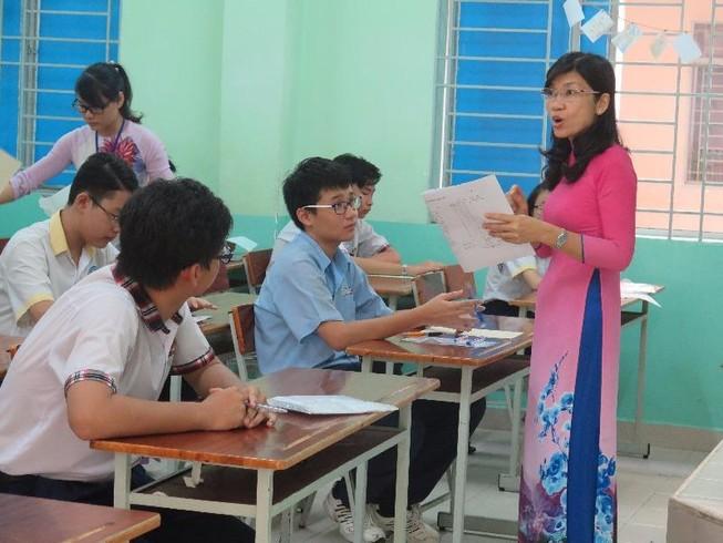 Sở GD&ĐT TP.HCM công bố đề thi minh họa lớp 10