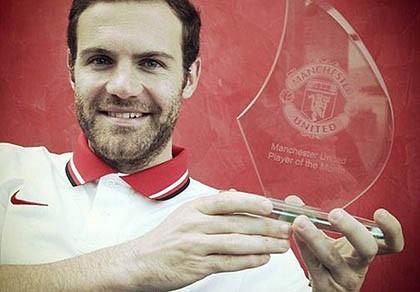 """Juan Mata """"mừng rơi nước mắt"""" nhận giải thưởng từ M.U"""