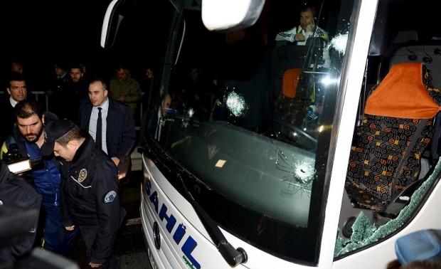 Vụ xả súng xe chở đội Fenerbahce: Không phải khủng bố