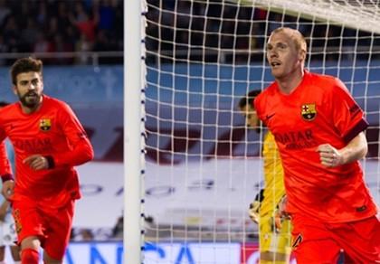 Barca tái lập khoảng cách với Real, dù Messi mất dạng
