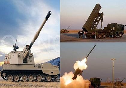 """Thái Lan """"trình làng"""" loạt vũ khí mới Made in China"""