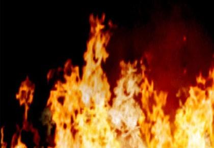 Cháy lớn khiến 1.300m3 gỗ bị thiêu rụi trong đêm