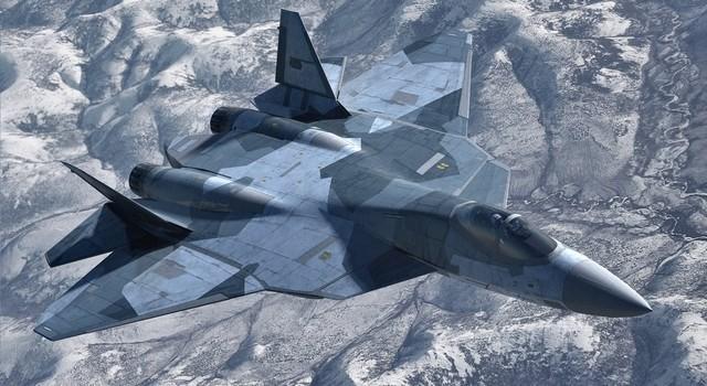 F-22 sẽ bại trận khi không chiến với T-50 PAK FA của Nga?