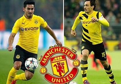 Bỏ ra 50 triệu bảng, M.U 'tậu' bộ đôi ngôi sao của Dortmund