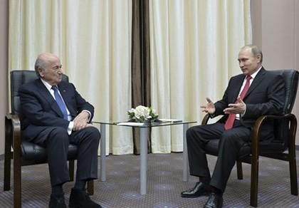 Chủ tịch FIFA Sepp Blatter: 'Phê phán Nga thì… ở nhà đi'