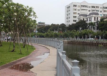 Kênh Nhiêu Lộc – Thị Nghè bắt đầu trở lại trong lành