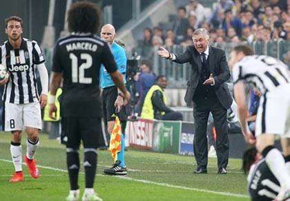 Ancelotti: 'Real mất kiên nhẫn, Juventus phản công lợi hại'