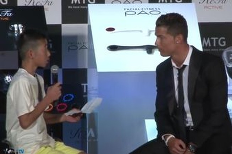 Khi Cristiano Ronaldo cũng có trái tim vàng