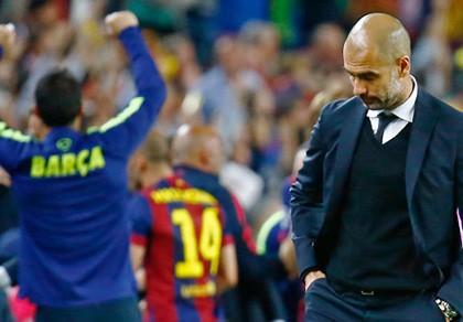 Guardiola đau lòng vì thảm bại 0-3 tại Nou Camp