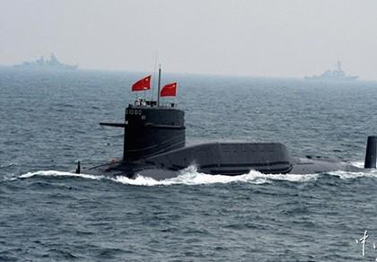 """Tàu ngầm Trung Quốc có thể dễ dàng bị tấn công vì """"ít vận động"""""""
