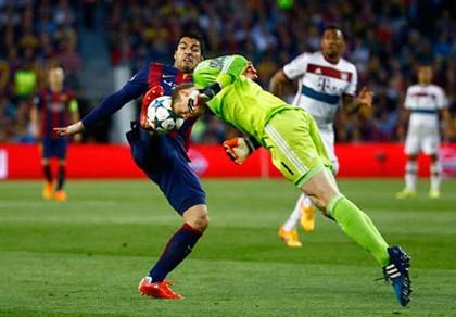 Đội hình tiêu biểu lượt đi bán kết Champions League