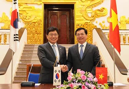 Không ngại sức ép cạnh tranh từ hiệp định thương mại Việt Nam – Hàn Quốc