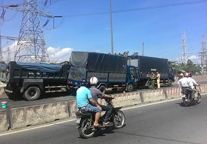 Tai nạn liên hoàn trên quốc lộ 1A