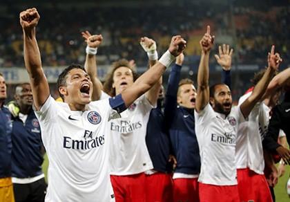 PSG vô địch Ligue I mùa thứ ba liên tiếp
