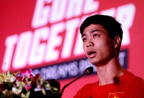 Công Phượng hứa giành Vàng ở SEA Games 28